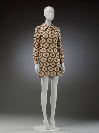 'Eclair' dress, Mary Quant's Ginger Group, 1969, UK. Museum no. T.90–2018. © Victoria and Albert Museum, London