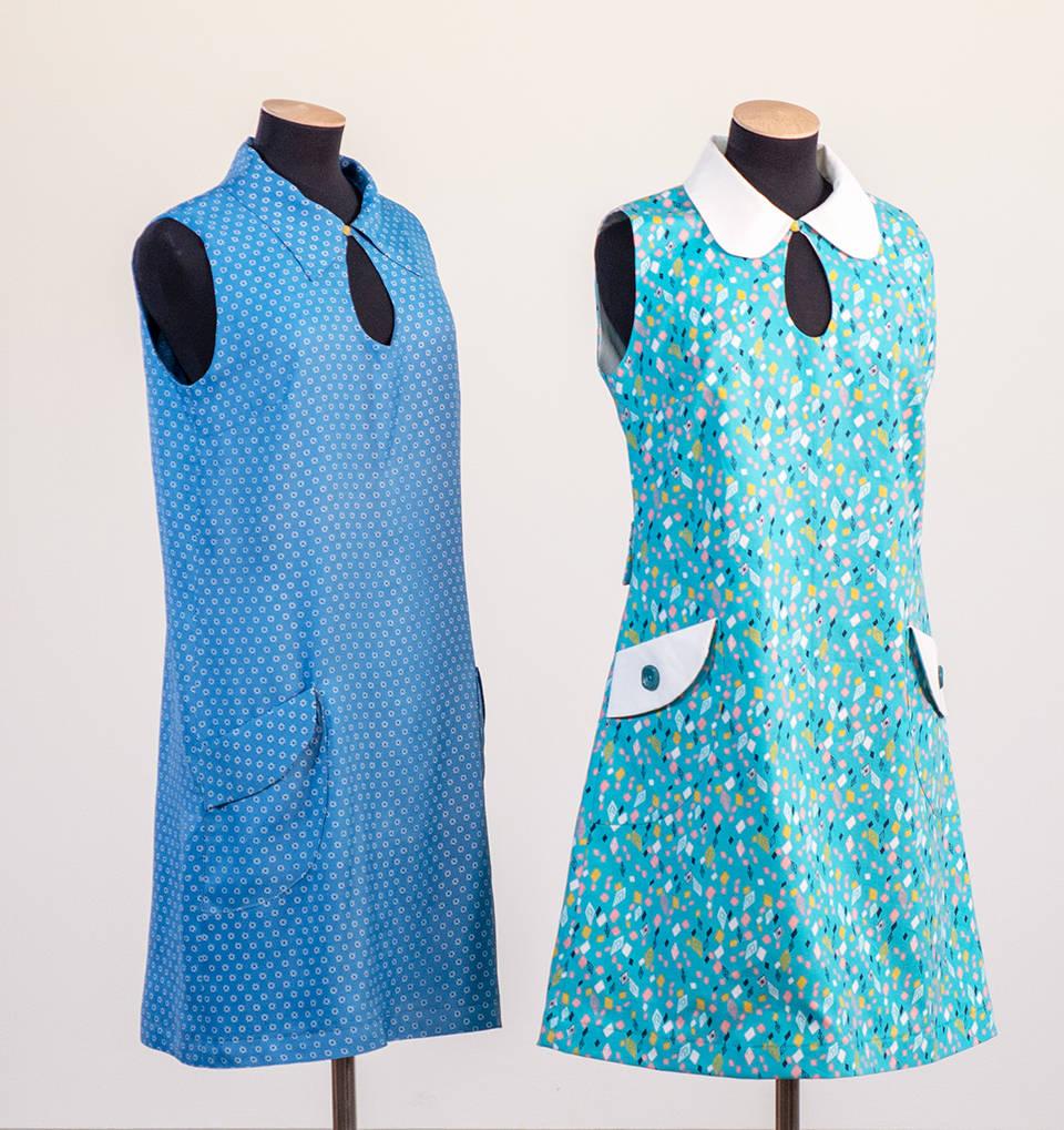 mary  quaint style minidress
