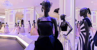 Christian Dior: Designer of Dreams exhibition. © Victoria and Albert Museum, London