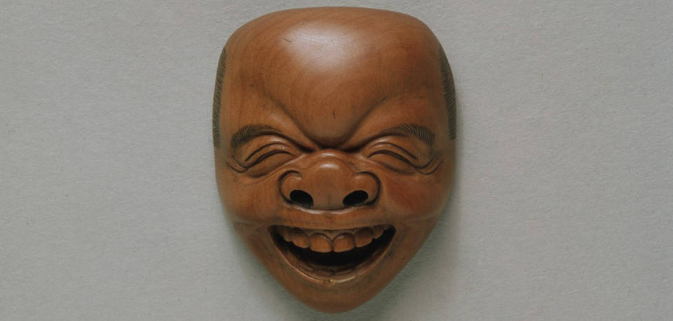 V A Carved The Laughing Netsuke