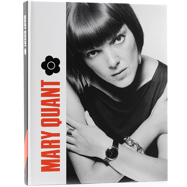 Mary Quant hardback exhibition book
