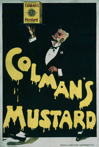 Colman's Mustard, poster, Nic, about 1900, England. Museum no. E.22-1973. © Victoria and Albert Museum, London