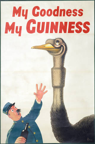 My Goodness, My Guinness, poster, John Gilroy, about 1939, UK. Museum no. E.152-1973. © Victoria and Albert Museum, London