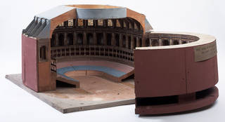 Photo of Architectural model of the Albert Hall, Francis Fowke, made 1864, England. Museum no. A.10-1973. © Victoria and Albert Museum, London
