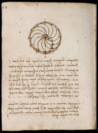 Codex Forster II (folio 91 verso), Leonardo da Vinci, late 15th – early 16th century, Italy. Museum no. MSL/1876/Forster/141/II. © Victoria and Albert Museum, London
