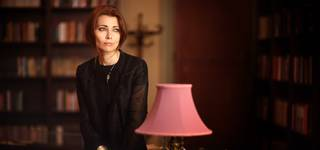 Fashion and Fiction: Elif Shafak with Rosie Goldsmith photo