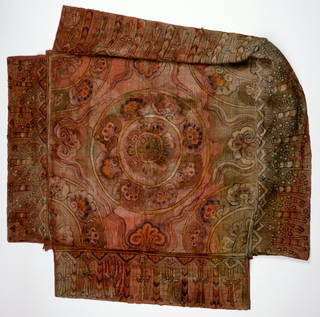 Photo of Canopy, 600 – 800 AD, Dunhuang, China, plain woven hemp. Museum no. LOAN:STEIN.620. © Victoria and Albert Museum, London. On loan from the Government of India and the Archaeological Survey of India