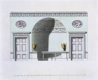 Design for a drawing room