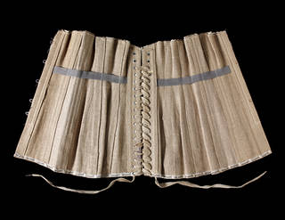 Corset, 1917-18, Germany or Austria, 1917-18. Museum no. T.44-2015. © Victoria and Albert Museum, London