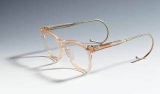 Photo of Child's spectacle frames, National Health Service, 1960 – 69, UK. Museum no. B.306-1996. © Victoria and Albert Museum, London