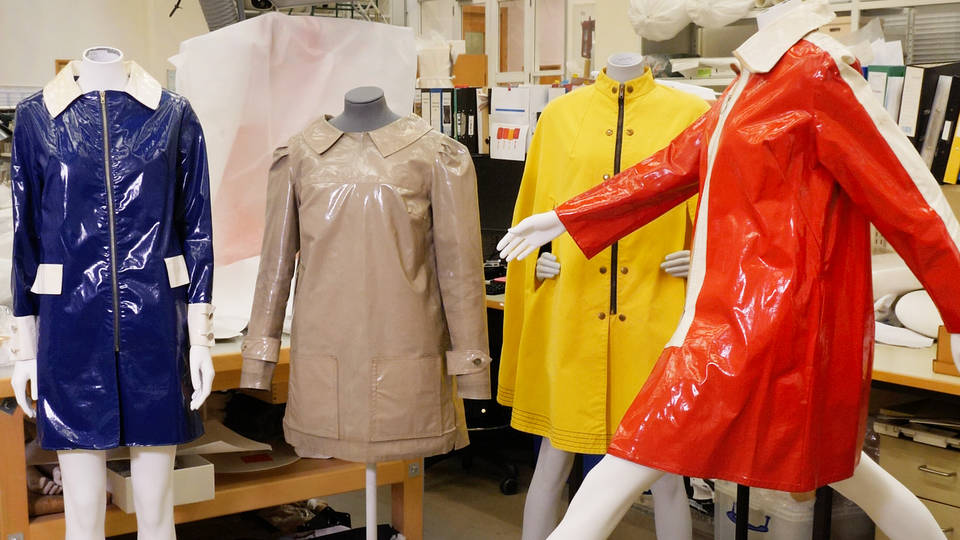 V&A · Fashion unpicked: The 'Wet Collection' by Mary Quant
