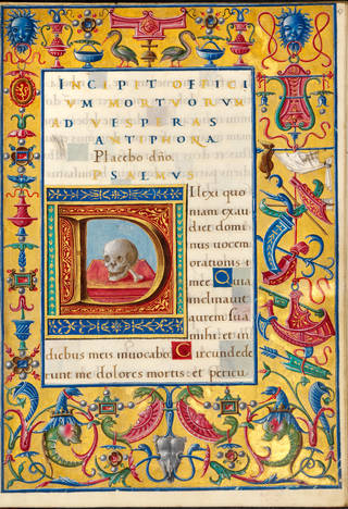 Bentivoglio Hours, about 1494 – 1503, Bologna, Italy. Museum no. MSL/1902/1707 (Reid 64), f. 67r. © Victoria and Albert Museum, London