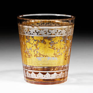 Beaker, unknown, mid-18th century, Bohemia (now Czech Republic). Museum no. 245-1872. © Victoria and Albert Museum, London