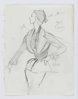 Christian Dior in the National Art Library photo