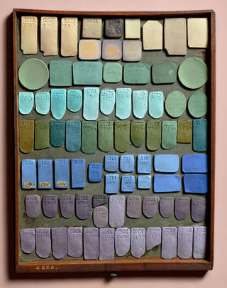 Wedgwood Tray of Jasper Trials. © Wedgwood