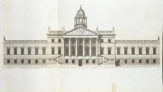 Wansted House, plate from Vitruvius Britannicus; or, The British architect, Vol. 1, by Colen Campbell, 1731, London. Museum no. L.4058-1961. © Victoria and Albert Museum, London