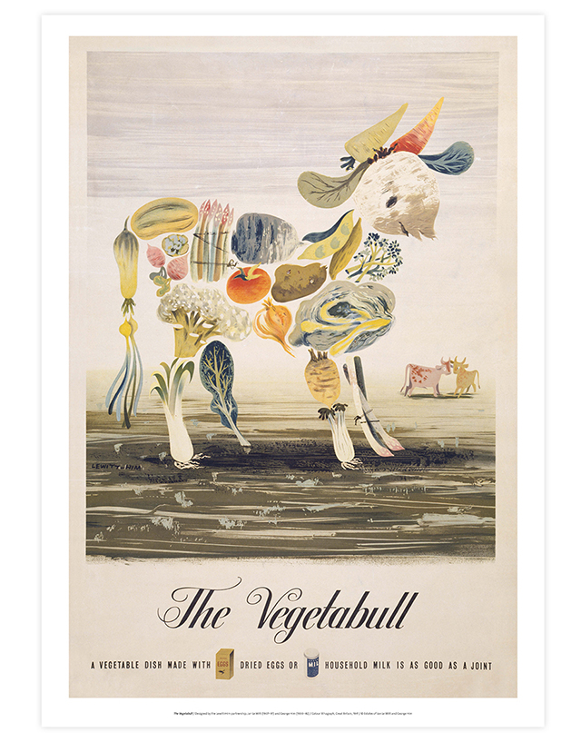 The Vegetabull giclee print