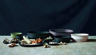 Food Waste Ware by Kosuke Araki, 2013. Photograph by Masami Naruo.