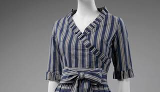 The Art of the Stripe: Mary Quant-inspired Dressmaking  photo