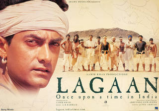 Lagaan (2001), film poster, designed by Simrit Brar, 2001, India. Museum no. IS.91-2001. © Victoria and Albert Museum, London