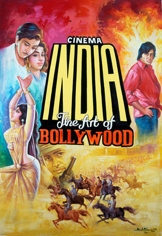 Cinema India: The Art of Bollywood, film hoarding, Balkrishn Arts, 2002, India. Museum no. IS.115-2002. © Victoria and Albert Museum, London
