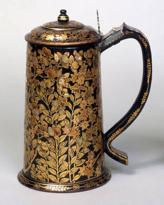 Tankard, unknown maker, 1600 – 20, Kyoto, Japan. Museum no. FE.23-1982. © Victoria and Albert Museum, London