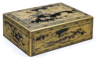 The Van Diemen Box, document box, maker unknown, 1636 – 39, Japan. Museum no. W.49-1916. © Victoria and Albert Museum, London