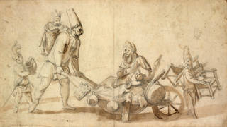 Itinerant Commedia dell'Arte performers, unknown maker, 1700 – 99. Museum no. S.726-1997. © Victoria and Albert Museum, London