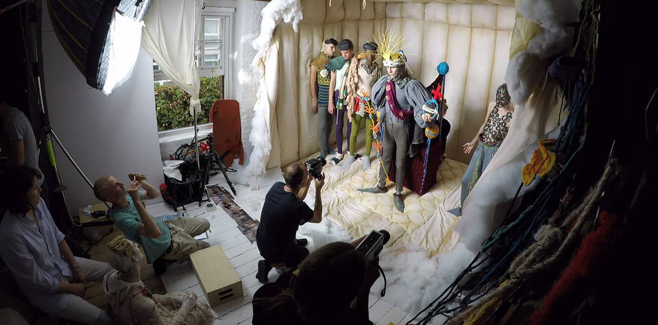 V Amp A 183 Tim Walker S Soldiers Of Tomorrow Photoshoot