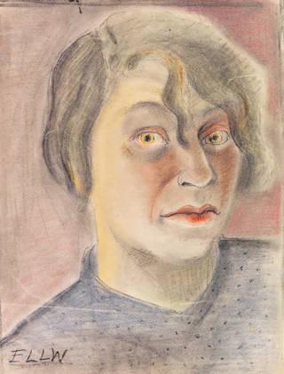 Self-portrait, Elfriede Lohse-Wächtler, about 1930. Private collection. Creative Commons