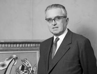 Harry Robert Fischer, photograph by Rex Coleman for Baron Studios, 10 October 1960. © National Portrait Gallery, London