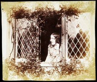 Agnes Chamberlain at the Window, Bredicot Court, photograph by Benjamin Brecknell Turner, albumen print from a Calotype negative, about 1854, England. Museum no. E.6-2009. © Victoria and Albert Museum, London