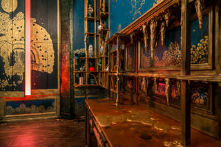 V&A · Filthy Lucre: Whistler's Peacock Room re-imagined