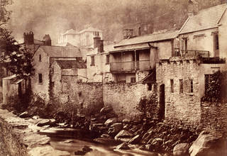 Lynmouth, North Devon, photograph by Benjamin Brecknell Turner, albumen print from Calotype negative, 1852 – 54, England. Museum no. PH.3-1982. © Victoria and Albert Museum, London