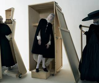 Staging the Exhibition... Tim Walker  photo