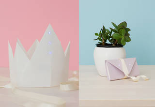 Illuminated Origami: make your own light up accessory photo