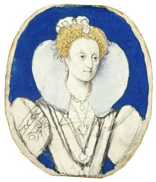 Portrait miniature of Elizabeth I