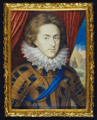 Portrait miniature of Henry Frederick
