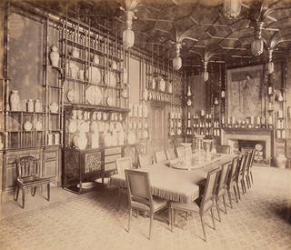 The Peacock Room, 49 Princes Gate, London, photograph by Harry Bedford Lemere, 1892, England. Museum no. 240-1926. © Victoria and Albert Museum, London
