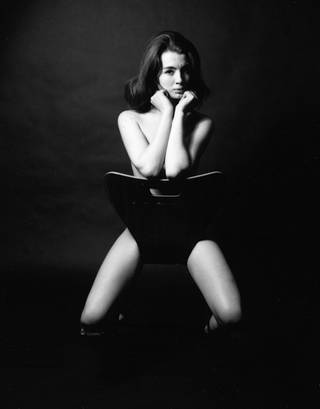 Christine Keeler 1963, photograph by Lewis Morley, gelatin-silver print, England. Museum no. E.2-2002, © Victoria and Albert Museum, London/Lewis Morley