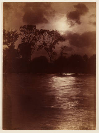 Nocturne on the Thames, photograph, by Paul Martin, 1880 – 90, England. Museum no. RPS.5058-2018. © Victoria and Albert Museum, London