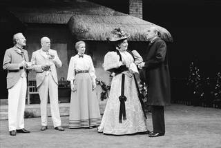 Scene from George Bernard Shaw's production of 'Mrs Warren's Profession', 1985, Royal National Theatre. © Victoria and Albert Museum, London