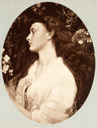 Alethea, photograph of Alice Liddell, by Julia Margaret Cameron, 1872, England. Museum no. RPS.1027-2017. © Victoria and Albert Museum, London