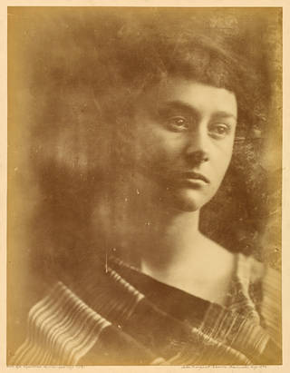 Alice Liddell, photograph by Julia Margaret Cameron, 1872, England. Museum no. RPS.1012-2017. © Victoria and Albert Museum, London