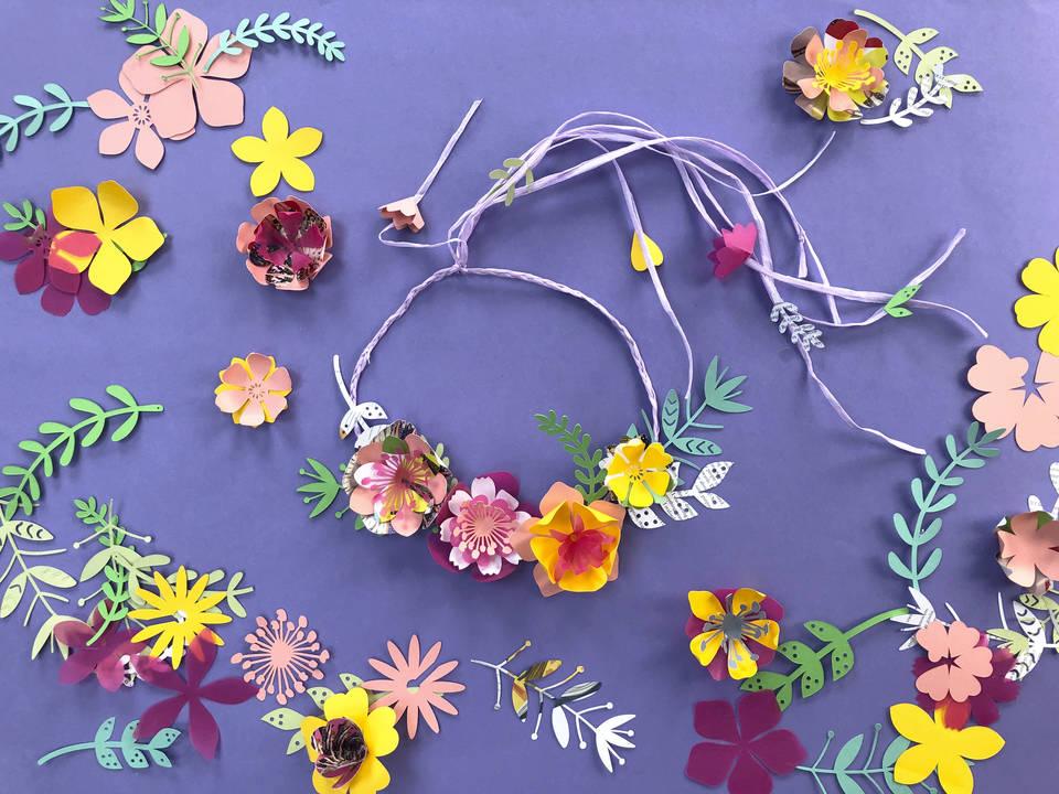 V&A · May Day Flower Crown Making Workshop