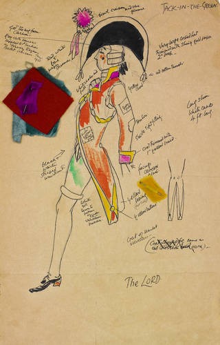Costume design by Claud Lovat Fraser for 'Jack in the Green'