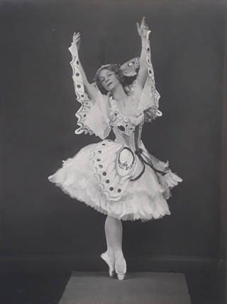 Adeline Genée in 'A Dream of Roses and Butterflies'