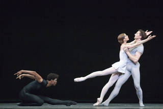Dame Darcey Bussell DBE, Carlos Acosta and Gary Avis in Song of the Earth.