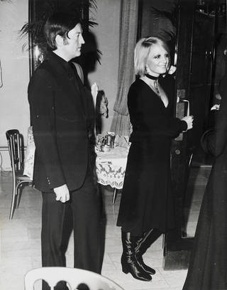 Barbara Hulanicki and Stephen Fitz-Simon, about 1960, photographer unknown. Biba archive. © Victoria and Albert Museum, London