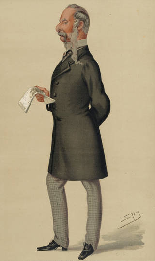 Portrait of John Tenniel, published by Vanity Fair 26 October 1878. Harry Beard Collection. Museum no. S.432-2010. © Victoria and Albert Museum, London